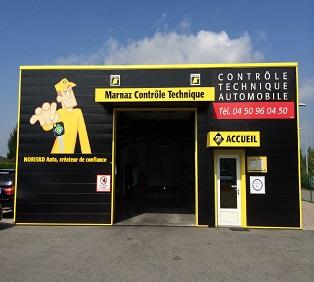 CONTROLE TECHNIQUE AUTOMOBILE MARNAZ